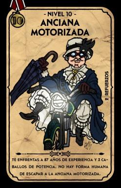 Motorized Old Lady